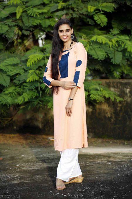 Designer Rayon Straight Kurti kurti manufacturer in jaipur